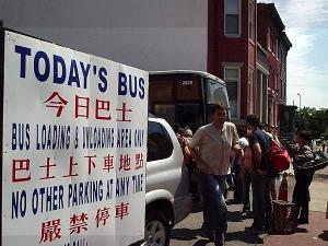 washington new york bus chinatown